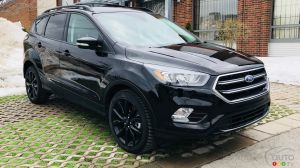 Essai du Ford Escape Titanium 2018