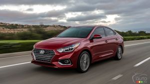 Hyundai Canada Announces Pricing for 2018 Accent