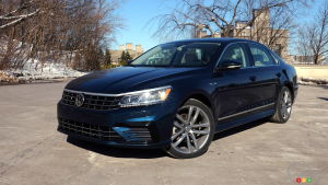 Review of the 2018 Volkswagen Passat TSI R-Line
