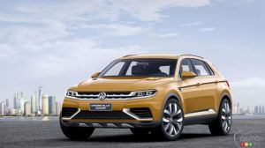 A Coupe Version of the Volkswagen Tiguan Next Year?