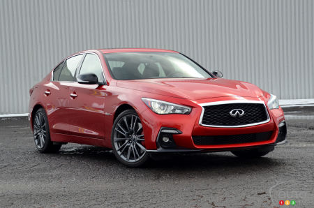 Review Of The 2018 Infiniti Q50 Sport And Red Sport Car
