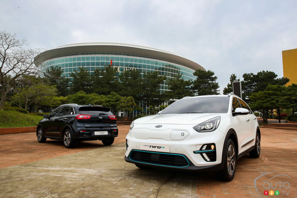 Kia Reveals First Images of the Niro EV