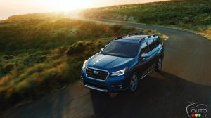 Production du premier Subaru Ascent 2019