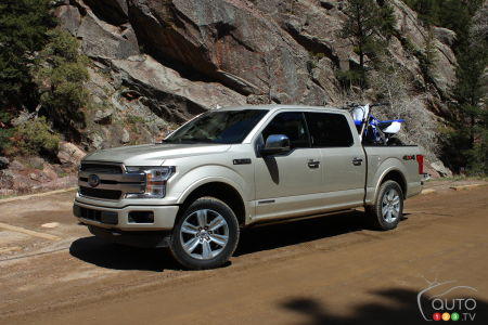 Our first drive in the 2018 Ford F-150 Diesel | Car Reviews