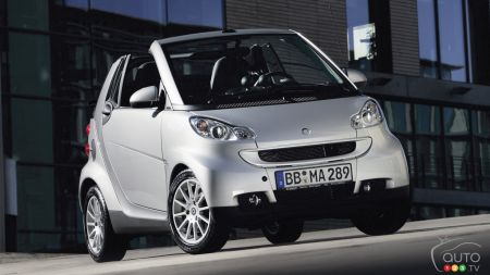 7,000+ smart Cars recalled in Canada