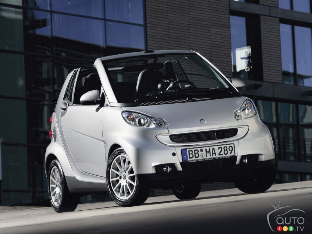 smart ForTwo Passion cabriolet 2008