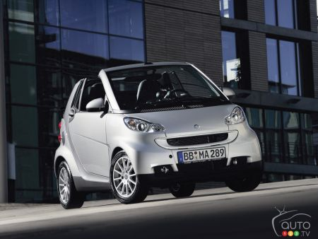 7 000 Smart Cars Recalled In Canada
