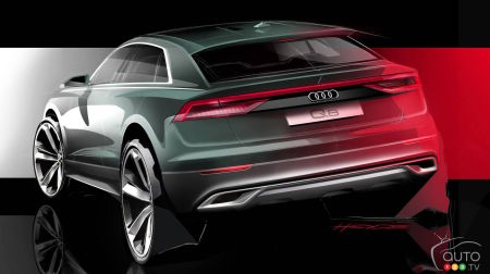 Audi reveals first image of new Q8 SUV