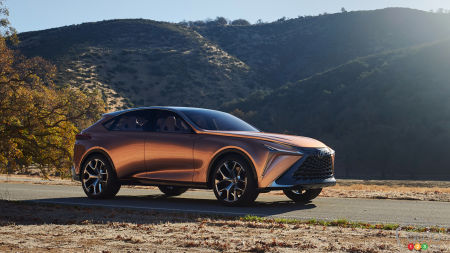 The LQ, a New Full-Size SUV Coming Our Way From Lexus?