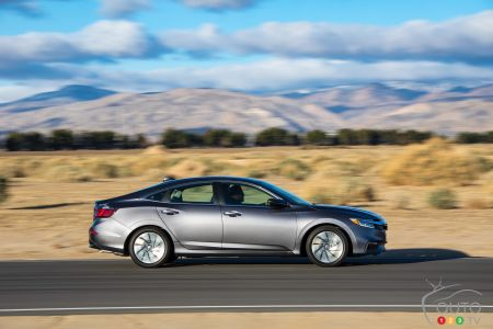 Production starts on the 2019 Honda Insight