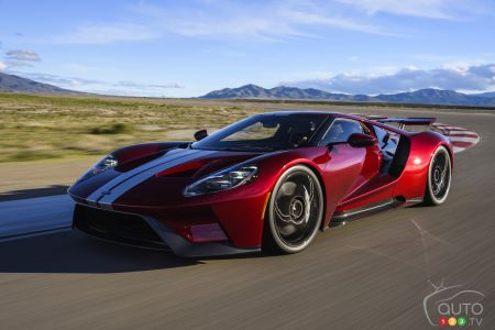 A 2017 Ford GT to be sold at Auction… Illegally?