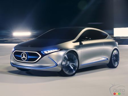 Mercedes-Benz Readying a Rival to the Model 3