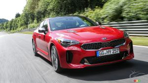 Canadian Consumers Will Get a 4-Cylinder Kia Stinger