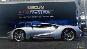 1,8 million pour la Ford GT 2017 à l'encan Mecum