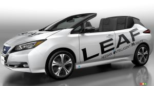 Nissan LEAF Open Car Concept Debuts in Tokyo