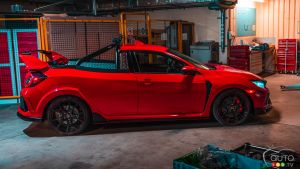 Honda construit une version camionnette de la Civic Type R