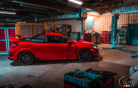 Honda Transforms a Civic Type R Into a Pickup