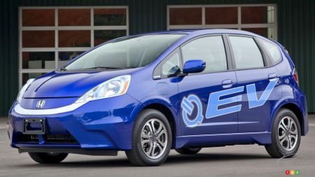 Honda Planning Fit-Based Electric Car in Partnership with Chinese Firm
