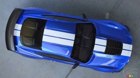 Ford Releases Image of New Mustang GT500