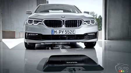 BMW: First Automaker to Introduce Wireless Charging for Cars