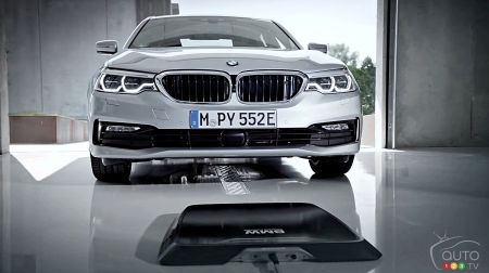 Bmw To Offer Wireless Charging For Its Electric Vehicles Car News