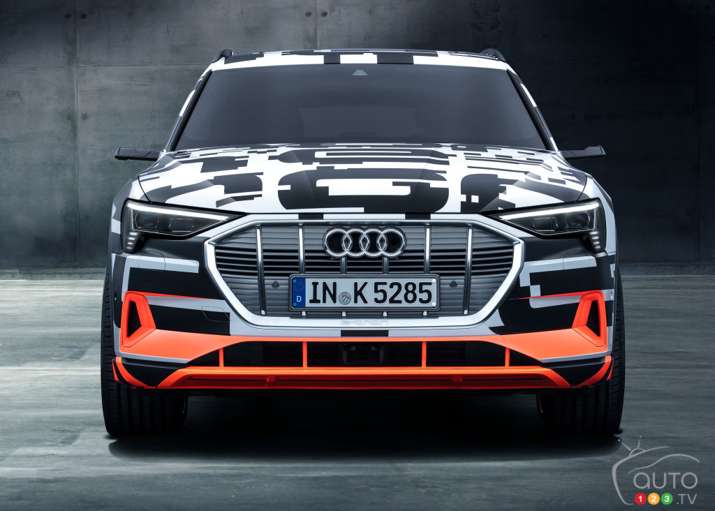 New Audi e-tron will have cameras instead of side-view mirrors