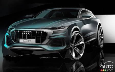 New Teaser Image Of Audi Q Front End Car News Auto - Audi news