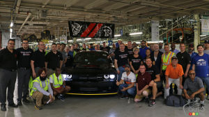Last Dodge Challenger SRT Demon Comes off Production Line