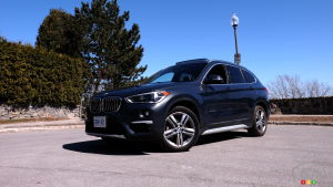 Review of the 2018 BMW X1