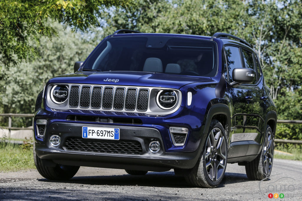 2019 Jeep Renegade Unveiled in Turin