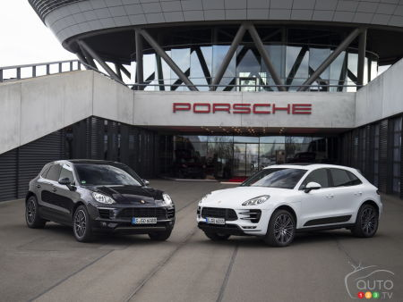 First Details For The 2019 Porsche Macan Car News Auto123