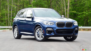 Review of the 2018 BMW X3 M40i