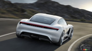 Porsche Mission E to be Called Taycan