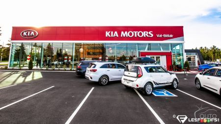 New Kia Val Bélair dealership takes you farther… on two wheels!