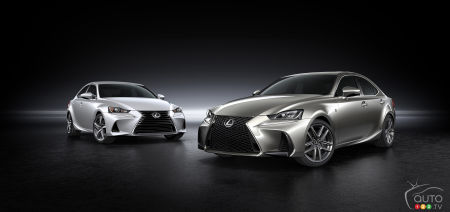 Future of the Lexus IS and GS sedans Unclear