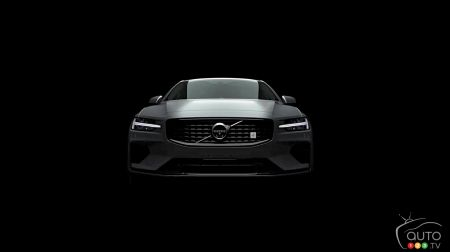 Volvo Teases early images of new 2019 S60
