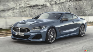 BMW Unveils New 8 Series Coupe