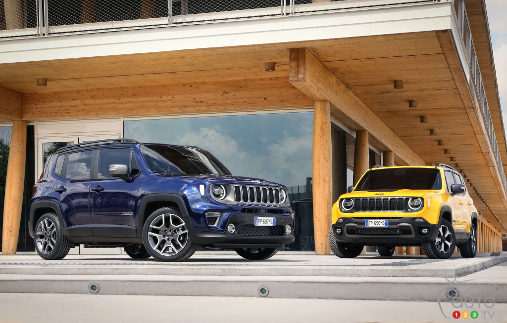 The new 2019 Jeep Renegade, In Pictures