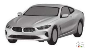 Patent images of the BMW 8 Series Gran Coupe Surface Online