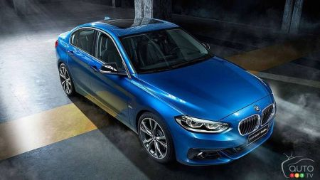 BMW 1 Series Sedan Arrives in North America