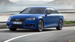 The 2019 Audi A4  is Unveiled With Discrete Changes