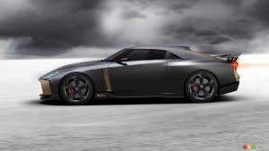 Nissan and Italdesign Present a 710 Horsepower GT-R concept