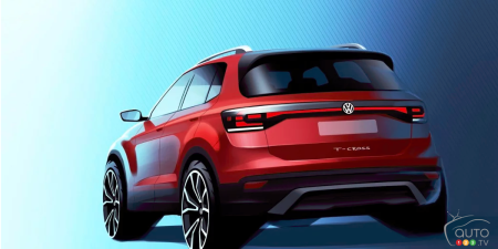 Volkswagen Gives a Glimpse of its T-Cross