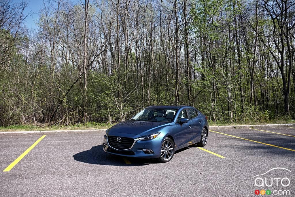 Review Of The 2018 Mazda3 GT Sedan