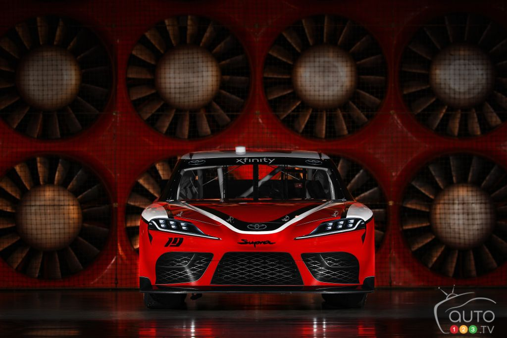 Toyota Supra Will Race in NASCAR