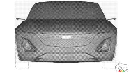 Mystery Cadillac Concept Surfaces via Patent Images