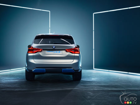 Le BMW iX3 construit en Chine sera vendu à travers le monde