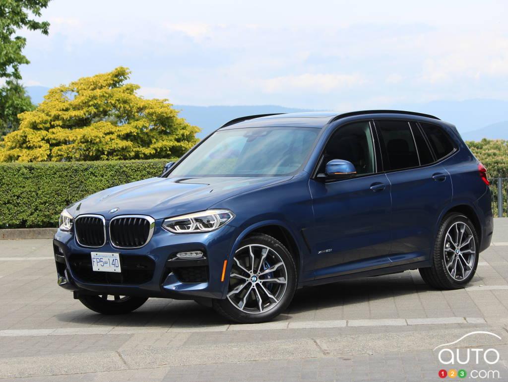 2018 Bmw X3 30i Review Car Reviews Auto123