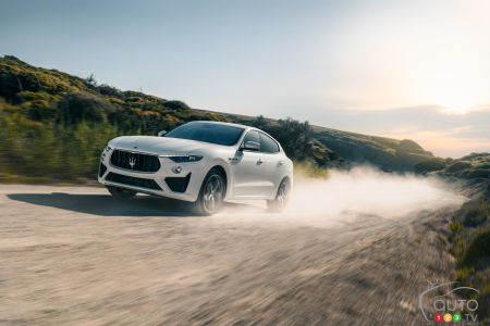 Maserati Lifts Veil on 2019 Levante GTS and its 550-hp Ferrari V8