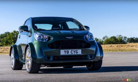 A V8 Powered Aston Martin Cygnet Lights Up Goodwood Fest Car News